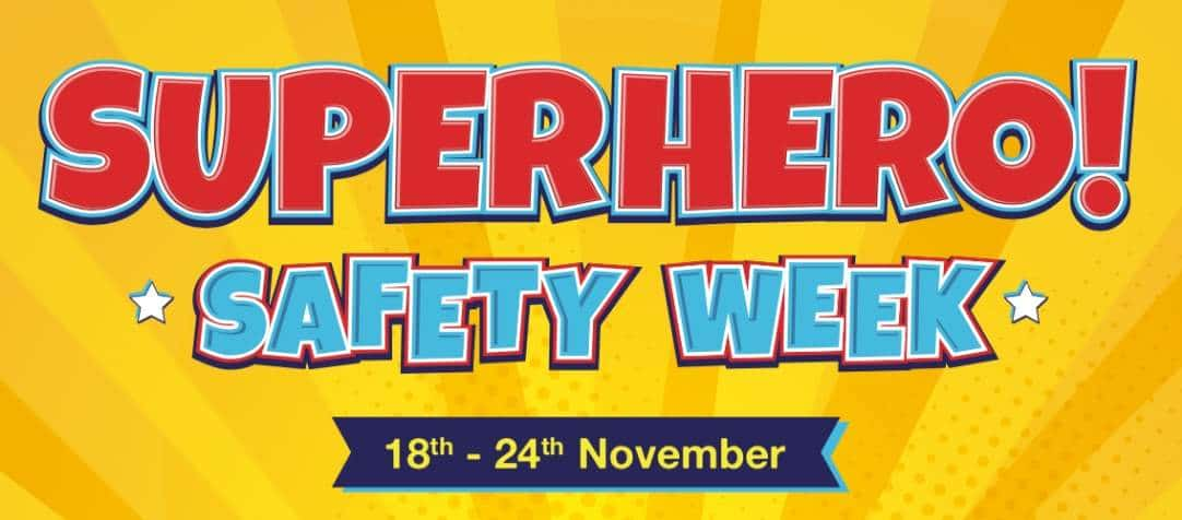 Superhero Water Safety Week